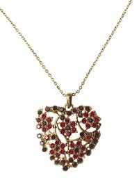 Twig & Berry Heart Necklace