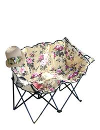 Chintz Tete A Tete Lawn Chair