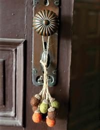 Bundle Of Acorns Ornament