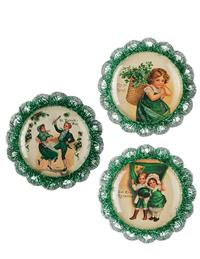 Erin Go Bragh Ornaments (Set Of 3)