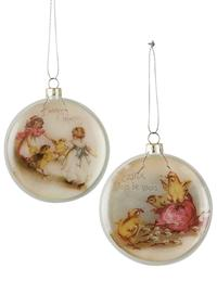 Easter Joys Ornaments (Pair)