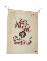 A Visit From Saint Nicholas Duffel Bag