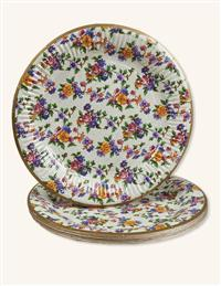 Chintz Paper Plates (Set Of 16)