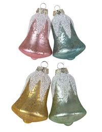 Snow Belles Ornaments (Set Of 4)