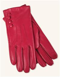 Scarlet Kidskin Gloves