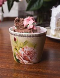 Morning Rose Ice Cream Cups (Set Of 4)