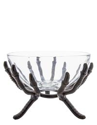 Crow's Clutches Glass Bowl