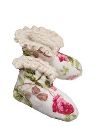 Pampered Princess Ruffled Slippers