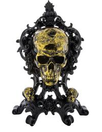 Poly Skull Table Piece