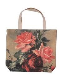 English Rose Flower Tote