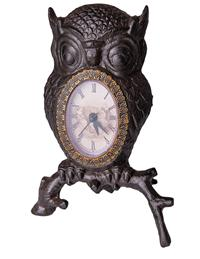 The Wise Old Owl Clock
