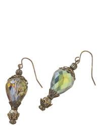 Crystal Hot Air Balloon Earrings