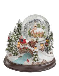 Dashing Through The Snow Globe