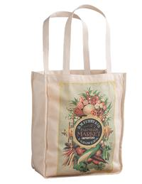 To The Market Canvas Tote