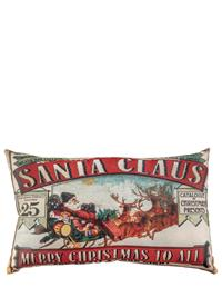 Vintage Santa Claus Pillow