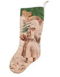 Saint Nicholas's Journey Stockings (Set Of 2)