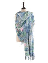 Water Lilies By Monet Scarf