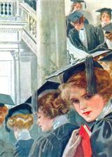 H. Fisher Graduation (Pkg Of 6 Blank Cards)